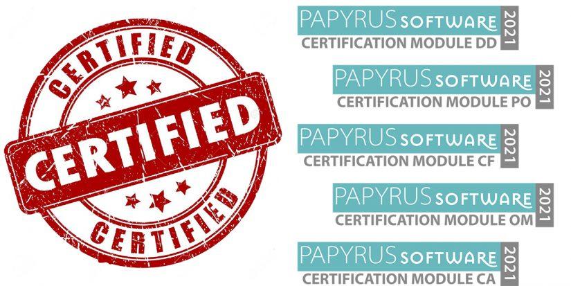 The Papyrus Certification Program