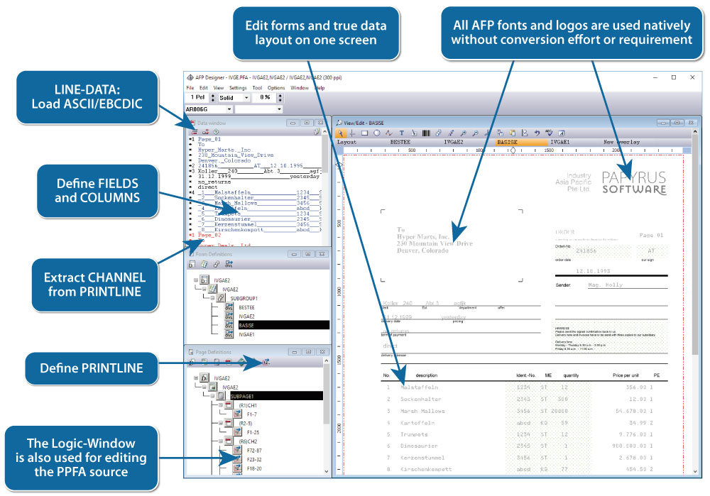 OverView AFP Designer