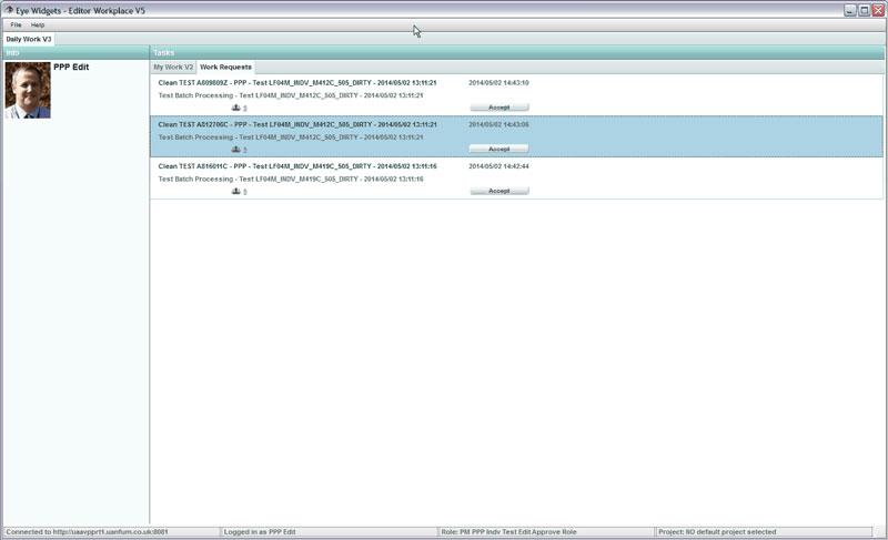 Non document editing service