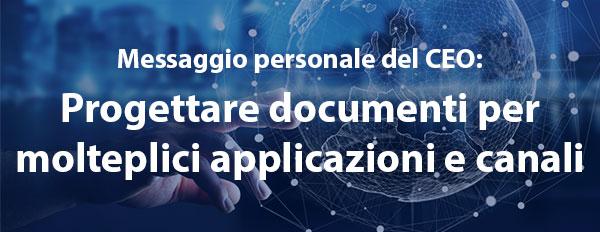 Gestire la progettazione di documenti tra applicazioni e canali