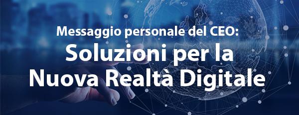 Soluzioni per la Nuova Realtà Digitale