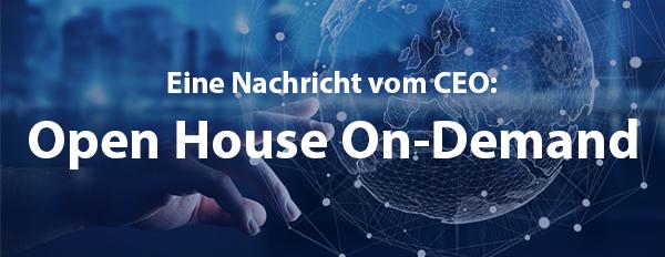 Open House On-Demand für Sie