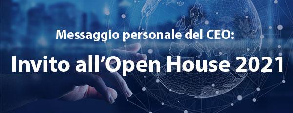 Invito all'Open House 2021